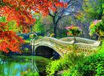 Алмазная мозаика Осень в парке GF 1497 40*50