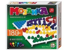 Пластмассовая мозаика для детей, 180 элементов