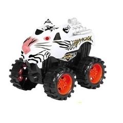 Машинка инерционная Джип Shantou Тигр 1818-49 Белая