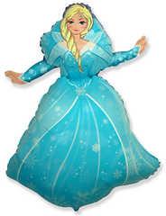№085 Фигура с гелием. Принцесса Эльза. 99 см*69 см.