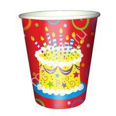 """№14 """"Торт""""  - стаканы (в упаковке 6 шт.)"""