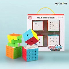 Подарочный набор кубиков QiYi Luxurious Set 4 в 1