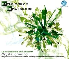 """Научно-познавательный набор """"Магические кристаллы"""", малый, зеленый"""