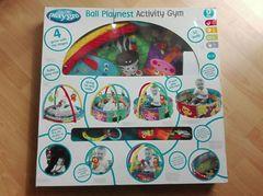 Развивающий коврик-бассейн Ball Playnest Activity Gym