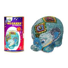 """Набор для творчества """"3D-Мозаика из пайеток"""" - Слон"""