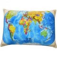 Подушка антистресс «Карта мира»