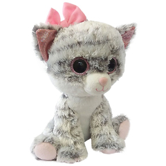 "Мягкая игрушка ""Глазастик"" - Кошечка, 24 см"