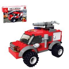 """Конструктор """"Пожарные"""" - Пожарная машина, 78 деталей Fire rescue"""