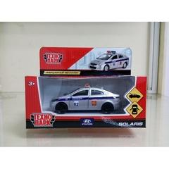 """Машина инерционная """"Hyundai Solaris Полиция"""", 12см"""