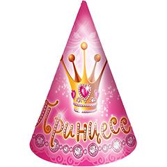 "№21 ""Принцесса"" - колпачки на резинке (в упаковке 6 шт.)"