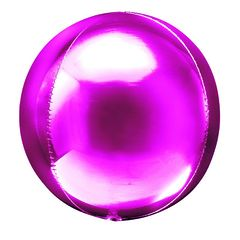 №008 Фигура с гелием. Сфера 3D (фуше) 50 см.
