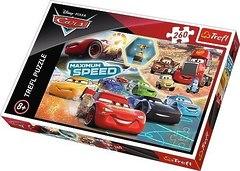 Пазл Трефл : Тачки 3. Парад Чемпионов,Disney Cars, 260 деталей