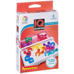 Логическая игра IQ-Колечки BONDIBON SMARTGAMES
