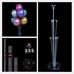 №015  Держатель для букета шаров (можно закрепить от 1 до 7 шаров, наполненных воздухом, латексных или фольгированных)
