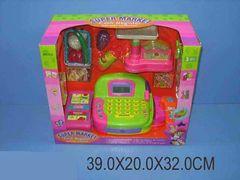 Игровой набор ESSA TOYS Кассовый аппарат с аксессуарами Супермаркет 936