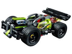Конструктор Зеленый спорткар (3421)