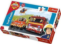 Пазл Трефл Пожарный Сэм спешит на помощь, 30 элементов