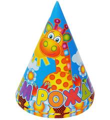 """№17 """"С днём рождения!"""" игрушки - колпачки на резинке (в упаковке 6 шт.)"""