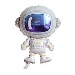 """№147 Фигура с гелием. """"Астронавт"""". 84 см*58 см."""