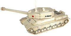 Сборная деревянная модель ТАНК ИС-2 187 деталей 80035