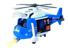 Dickie Спасательный Вертолет 41 см (звук, свет, батарейки)