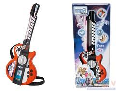 Электрогитара детская с разъемом для MP3 и светом (66 см.) Симба 106838628