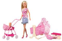 Кукла Штеффи с младенцем и аксессуарами, 29 см STEFFI LOVE NEW BORN BABY