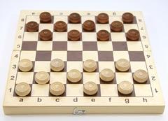 Игра настольная «Шашки» (деревянные)