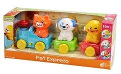 Экспресс с домашними животными PlayGo Арт. 2815
