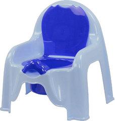 Горшок - стульчик детский М1326 (голубой)
