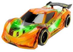 Гоночный автомобиль светящийся на батарейках, 20 см