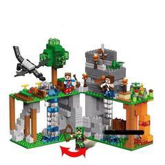 """Конструктор Minecraft \ Майнкрафт """"Таинственный остров"""""""