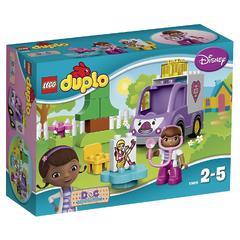 Конструктор LEGO Duplo 10605 Скорая помощь Рози доктора Плюшевой