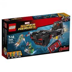 Конструктор LEGO Marvel Super Heroes 76048 Подводная атака Железного черепа