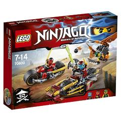 Конструктор LEGO Ninjago 70600 Погоня на мотоциклах