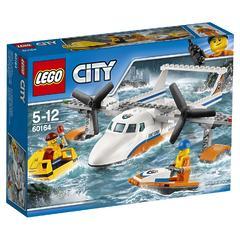 Конструктор LEGO City 60164 Спасательный самолет береговой охраны
