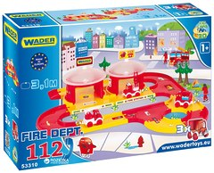 3D гараж Wader Пожарная команда