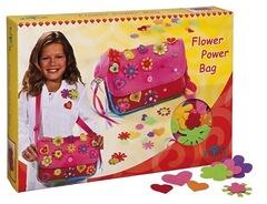 """Totum CREATIVITY 025004 Набор для изготовления сумочки """"Разноцветные цветочки"""""""