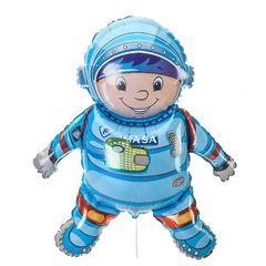 "№161 Фигура с гелием. Астронавт ""MASA"". 84 см*58 см."