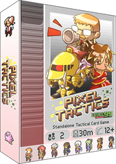 Настольная игра Pixel Tactics / Пиксель Тактикс (вторая редакция)