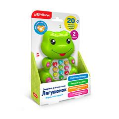 Лягушонок Зверята с огоньками музыкальная игрушка