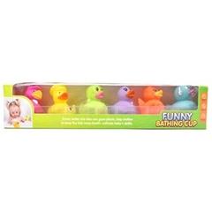 Набор пищалок , игрушки для ванны 6323-3