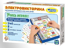 Настольная игра Электровикторина «Учись играя!»