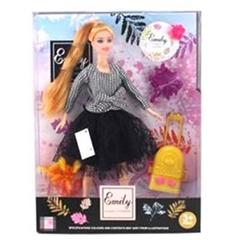 Кукла Эмили-путешественница с аксессуарами QJ070B