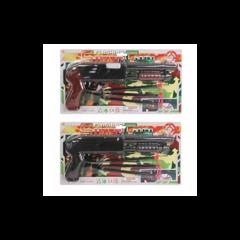 Автомат 600 AB на присосках, игрушечное оружие