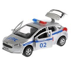 Машина FORD Focus хэтчбэк полиция, 12см