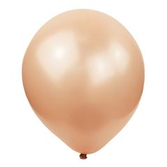 №049  Перламутр. Розовое золото. С гелием. 30 см.
