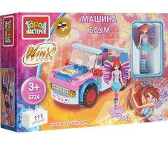 Детский конструктор Winx машина блум 6724