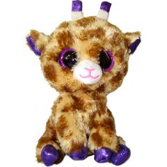 Мягкая игрушка Жираф коричневый