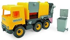 """Авто """"Middle truck"""" мусоровоз (желтый) в коробке"""